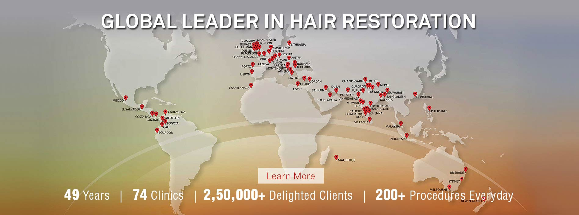 dhi hair transplant clinics map