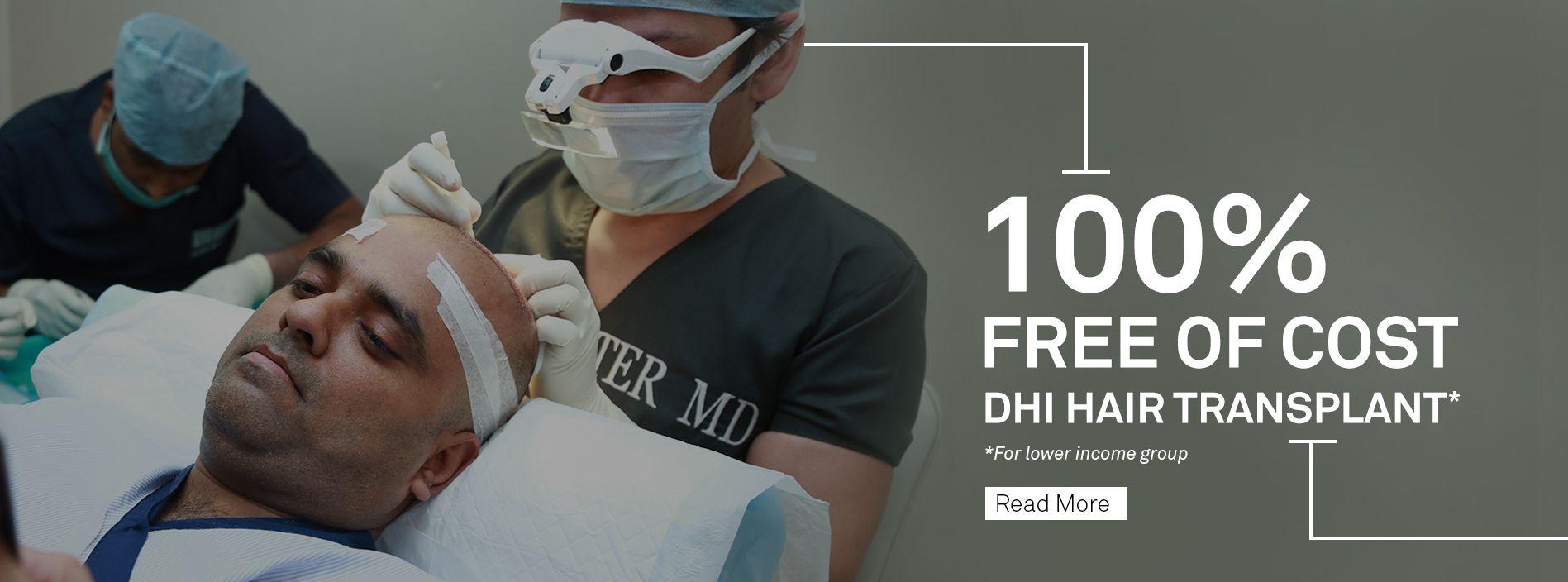 dhi hair transplant clinics map